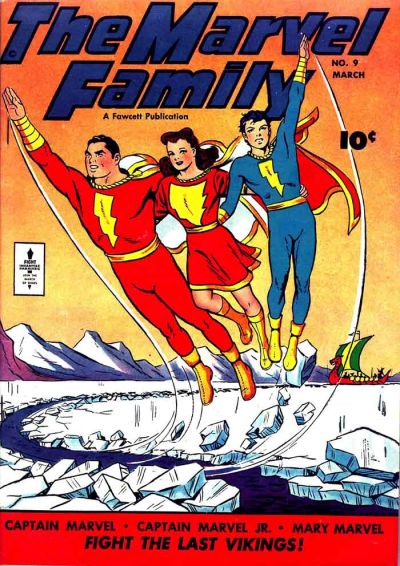 Marvel Family Vol 1 9