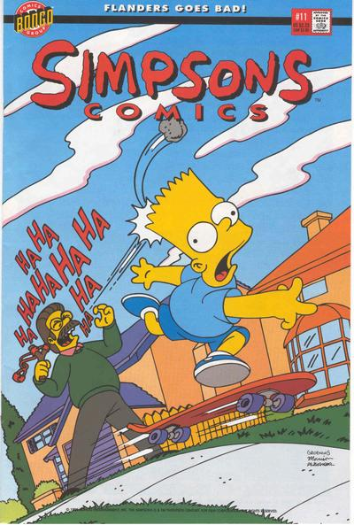 Simpsons Comics Vol 1 11