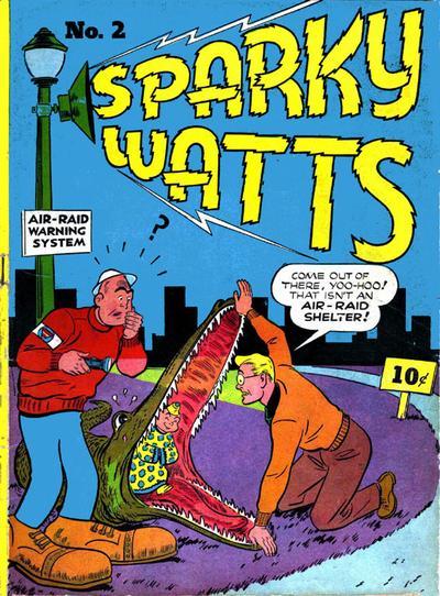 Sparky Watts Vol 1 2