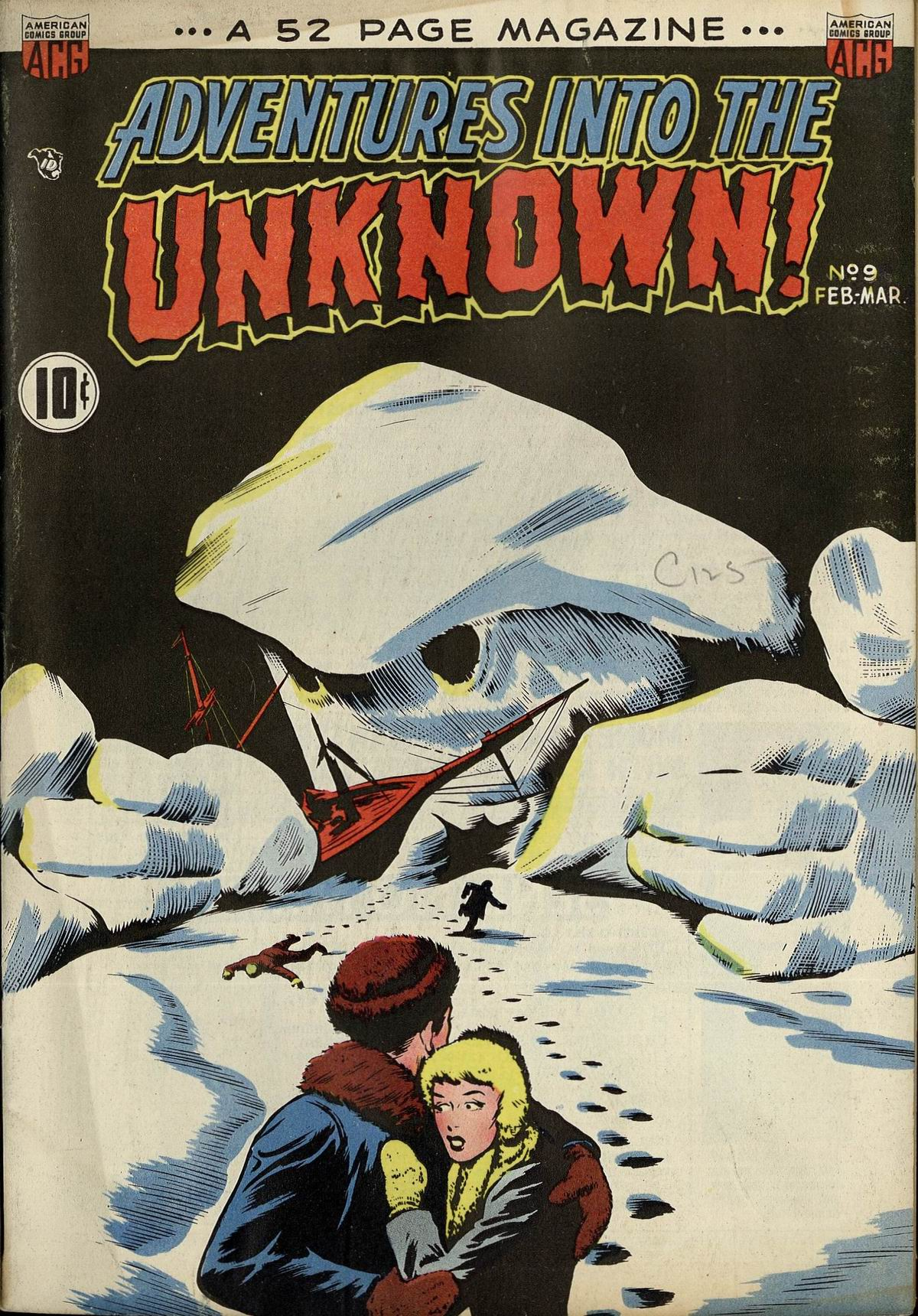 Adventures into the Unknown Vol 1 9