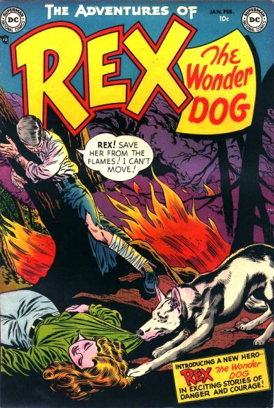 Adventures of Rex the Wonder Dog/Covers