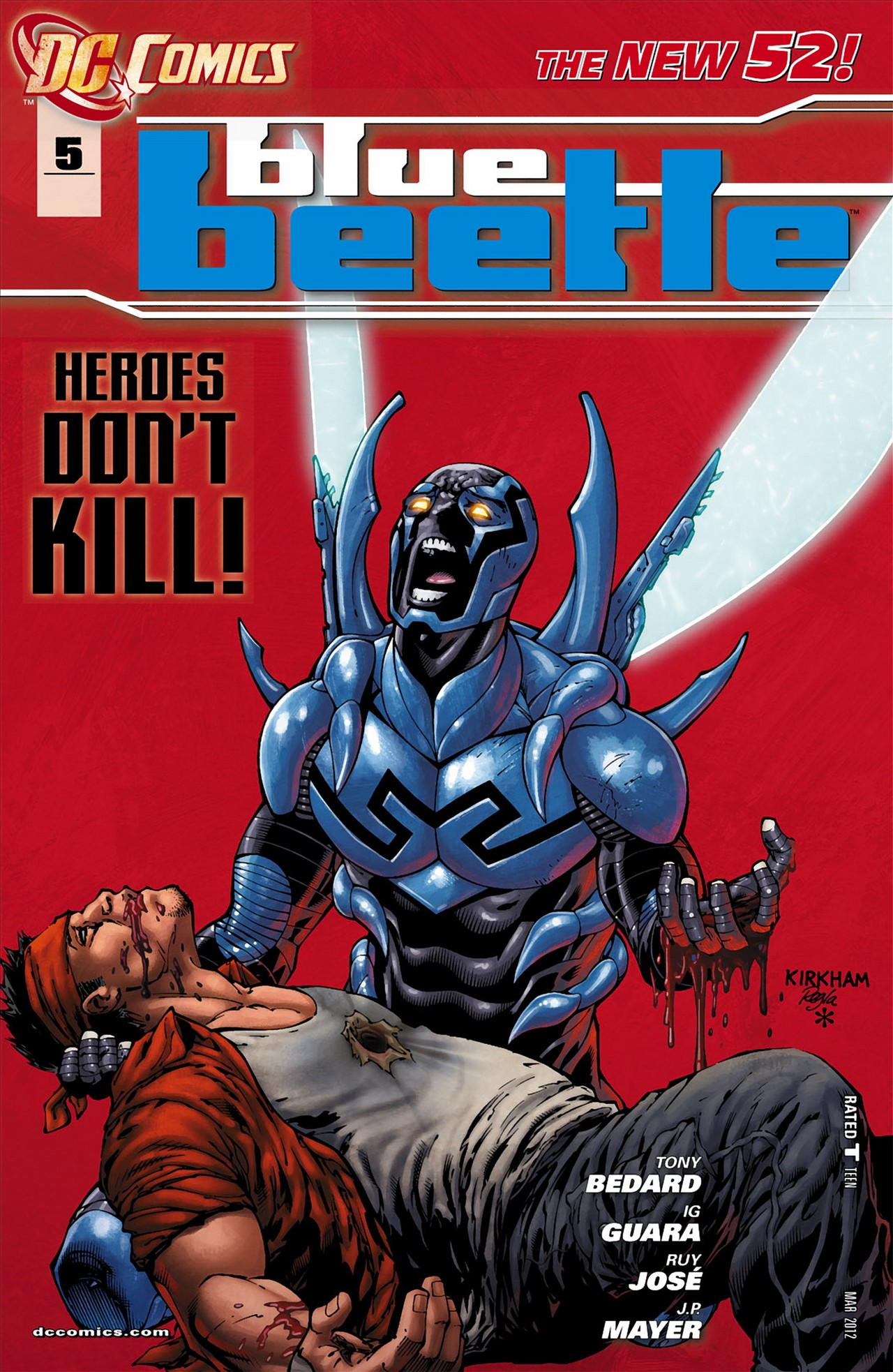 Blue Beetle Vol 8 5