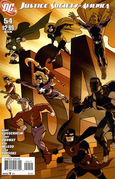 Justice Society of America Vol 3 54