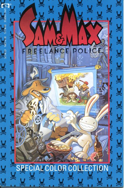 Sam & Max Freelance Police Special Color Collection Vol 1 1