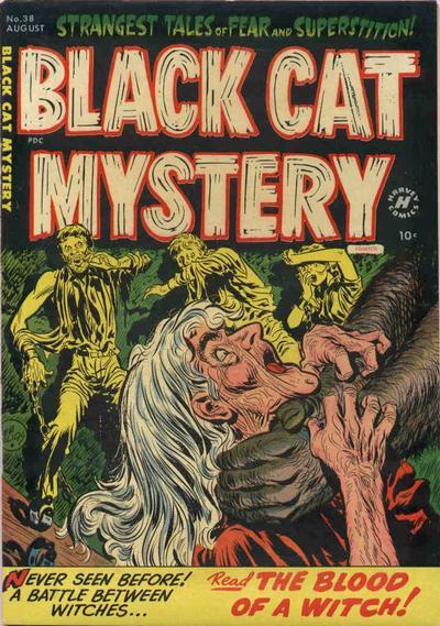 Black Cat Comics Vol 1 38