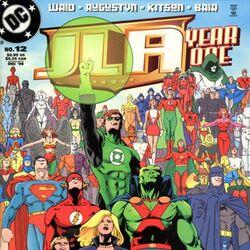 JLA: Year One Vol 1 12