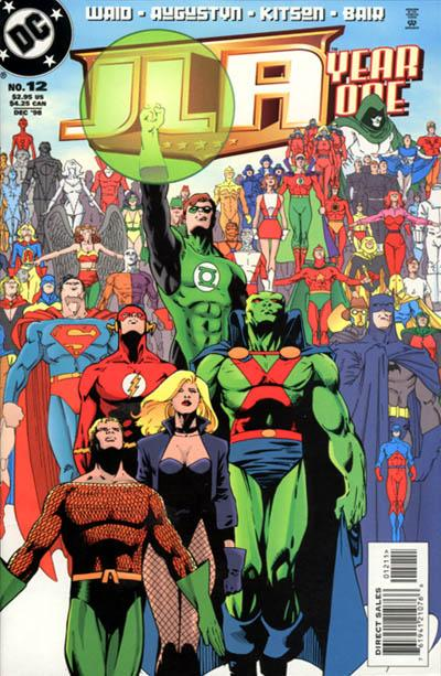 JLA: Year One Vol 1 12