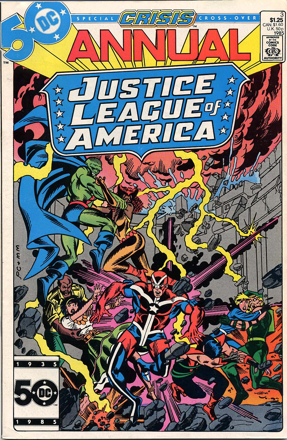 Justice League of America Annual Vol 1 3
