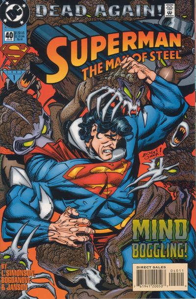 Superman: Man of Steel Vol 1 40