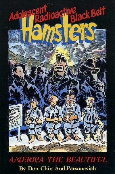 Adolescent Radioactive Black Belt Hamsters - America the Beautiful Vol 1 1