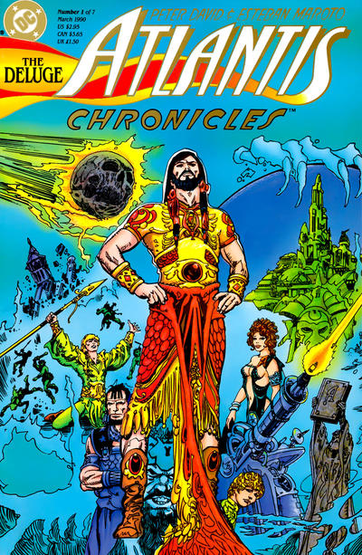Atlantis Chronicles/Covers