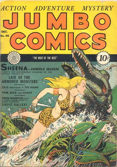 Jumbo Comics Vol 1 46