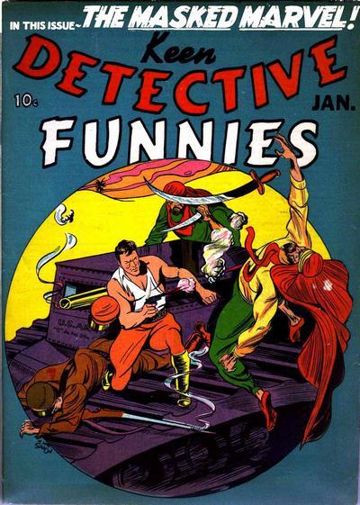 Keen Detective Funnies Vol 1 17