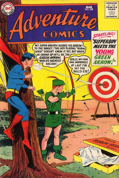 Adventure Comics Vol 1 258