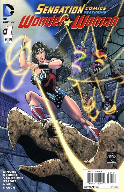 Sensation Comics Featuring Wonder Woman Vol 1 1