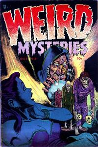 Weird Mysteries Vol 1 1