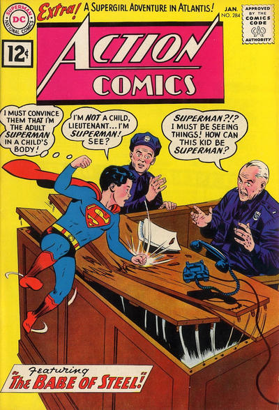 Action Comics Vol 1 284