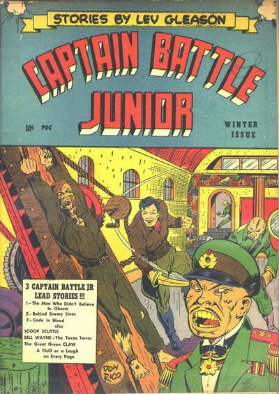 Captain Battle Jr. Vol 1 2