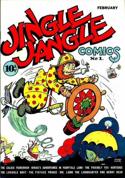 Jingle Jangle Comics Vol 1 1