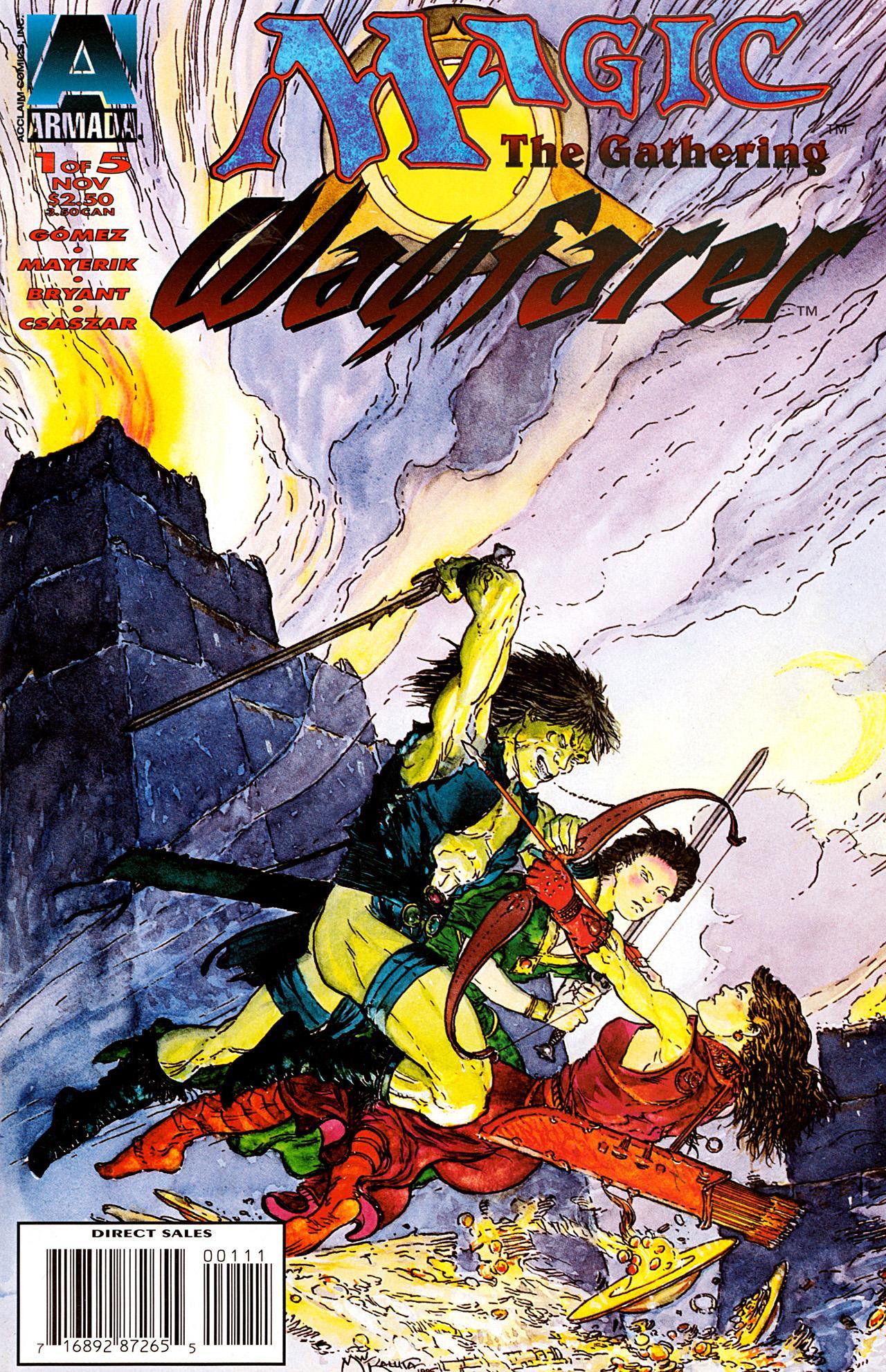 Magic the Gathering: Wayfarer Vol 1 1