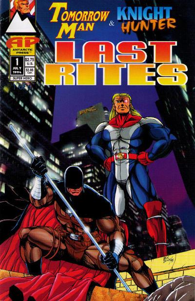 Tomorrow Man & Knight Hunter: Last Rites Vol 1 1