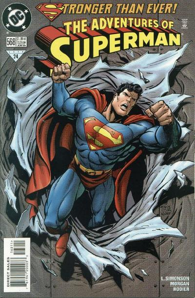 Adventures of Superman Vol 1 568