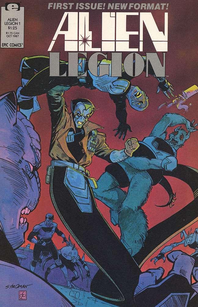 Alien Legion Vol 2 1
