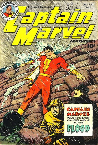 Captain Marvel Adventures Vol 1 132