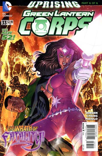 Green Lantern Corps Vol 3 33