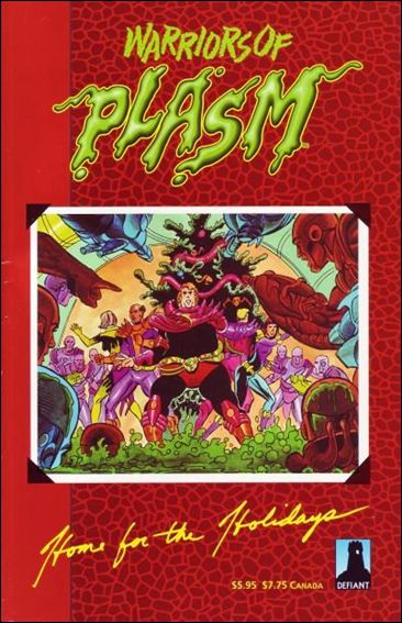 Warriors of Plasm Graphic Novel Vol 1