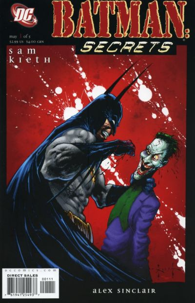 Batman: Secrets/Covers