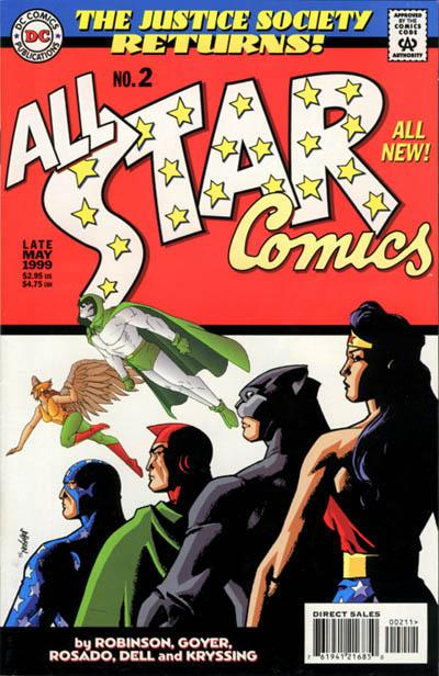 JSA Returns: All-Star Comics Vol 1 2