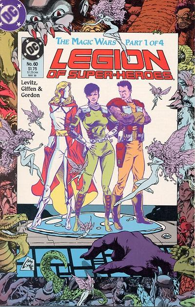 Legion of Super-Heroes: The Magic Wars