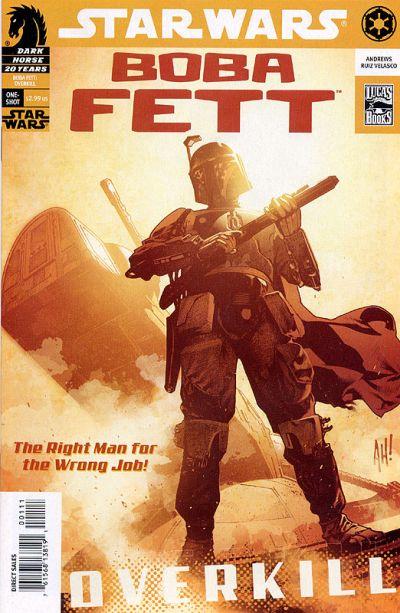 Star Wars: Boba Fett - Overkill Vol 1 1