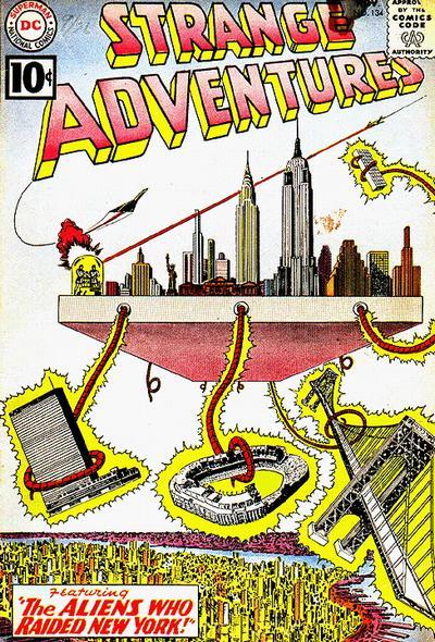 Strange Adventures Vol 1 134
