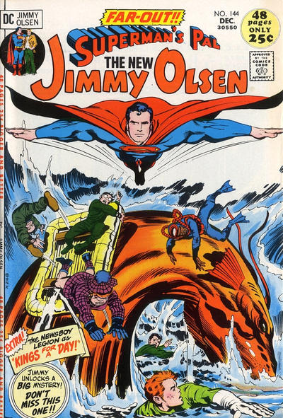 Superman's Pal, Jimmy Olsen Vol 1 144