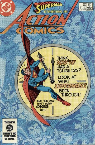 Action Comics Vol 1 551