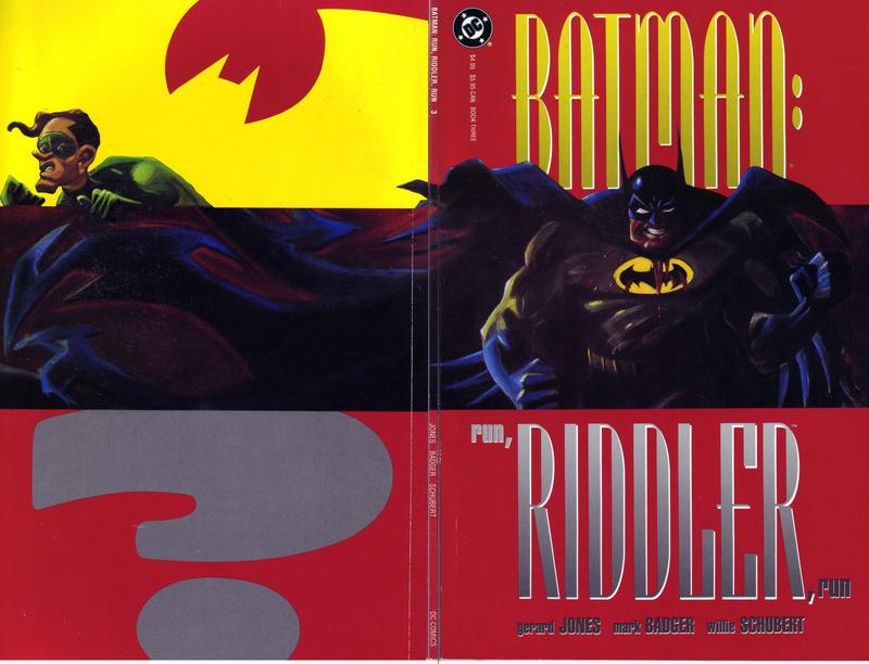 Batman: Run, Riddler, Run Vol 1 3