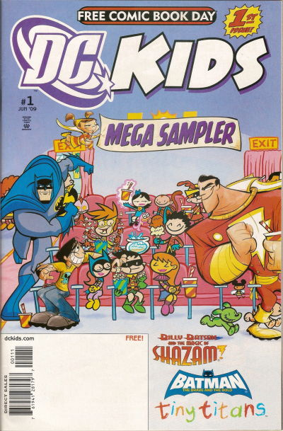 DC Kids Mega Sampler Vol 1