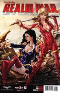 Grimm Fairy Tales Presents Realm War Vol 1 2-D