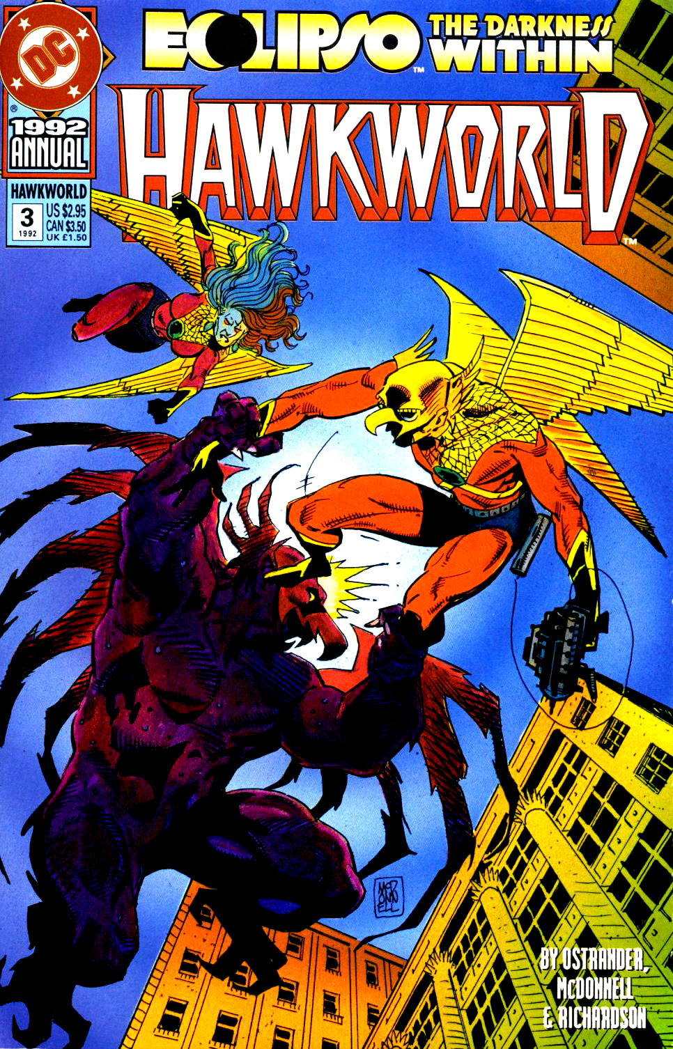 Hawkworld Annual Vol 2 3