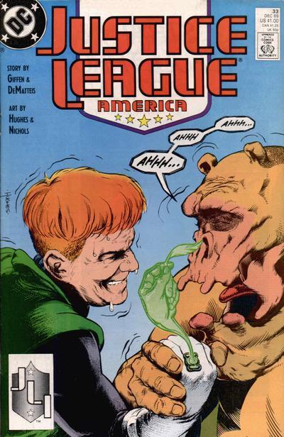 Justice League America Vol 1 33