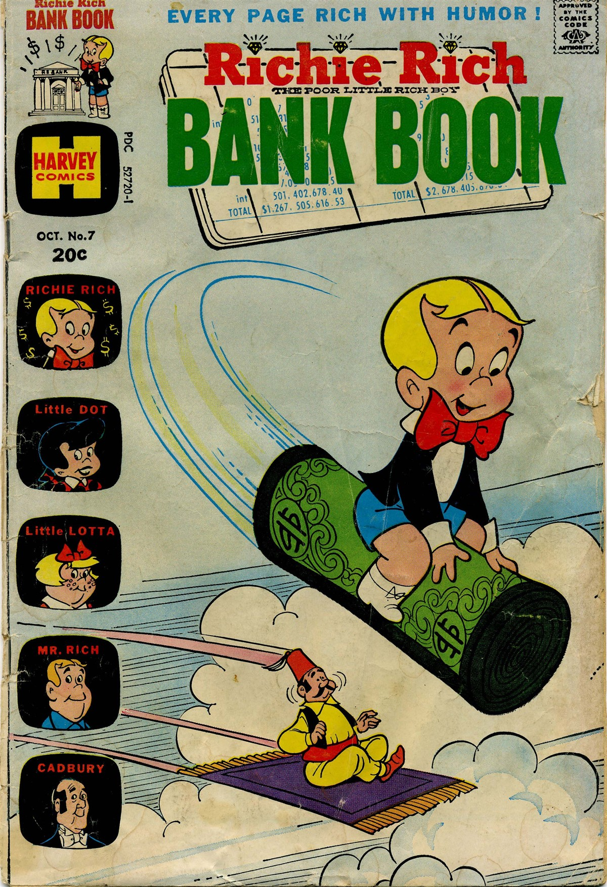 Richie Rich Bank Books Vol 1 7