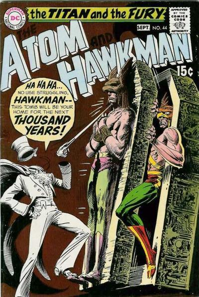 Atom and Hawkman Vol 1 44