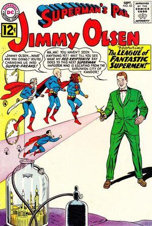 Superman's Pal, Jimmy Olsen Vol 1 63.jpg