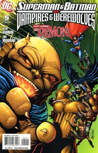 Superman and Batman vs. Vampires and Werewolves Vol 1 5