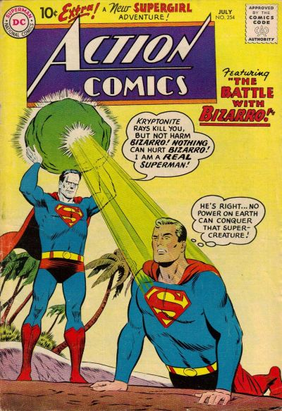 Action Comics Vol 1 254