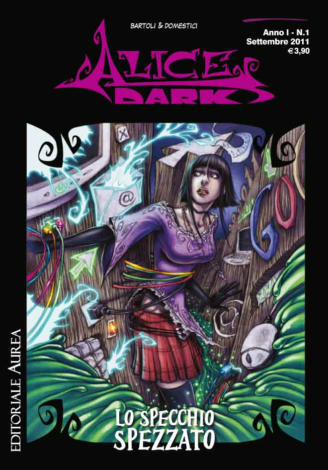 Alice Dark Vol 1 1