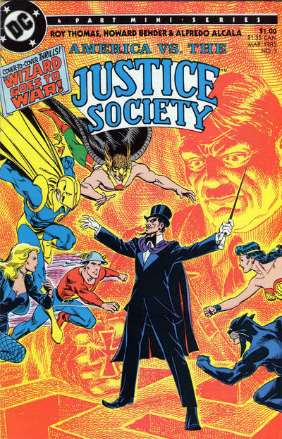 America vs. the Justice Society Vol 1 3