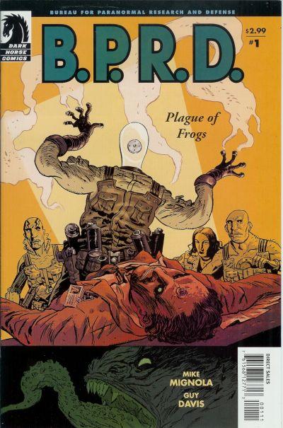 B.P.R.D.: Plague of Frogs Vol 1 1